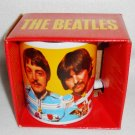 "THE BEATLES ""Sgt Peppers Lonely Hearts Club Band"" Mug 12oz NEW IN BOX"