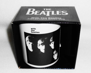 """THE BEATLES """"With The Beatles"""" Collectible Mug NEW IN BOX"""