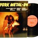 NEW YORK METAL- 84 COMPILATION VINYL MUSIC RECORD LP ALBUM HEAVY METAL ROCK RARE EX/EX