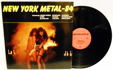 NEW YORK METAL- 84 COMPILATION VINYL MUSIC RECORD LP ALBUM HEAVY METAL ROCK RARE EX/EX