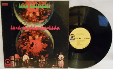 "1969 IRON BUTTERFLY ""IN-A-GADDA-DA-VIDA"" VINYL MUSIC RECORD LP ALBUM SD33-250 HARD ROCK"
