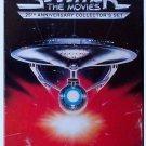Star Trek The Movies Set 1-5 25th Anniversary Collector's Set box + Star Trek 6
