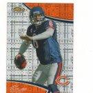2011 Finest Xfractor Jay Cutler #d 291/399 Chicago Bears