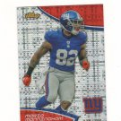 2011 Finest Xfractor Mario Manningham #d 030/399 New York Giants