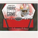 2014 Certified Fabric Of The Game Vernon Davis Jersey 44/99 San Francisco 49ers