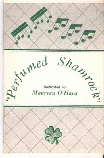 Rare Maureen O'Hara Biography Booklet 1960