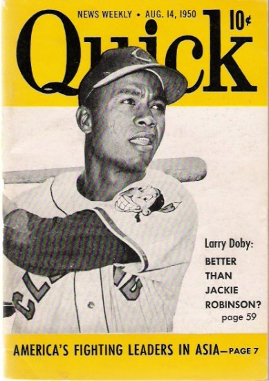 Larry Doby Quick Magazine Cover 1950