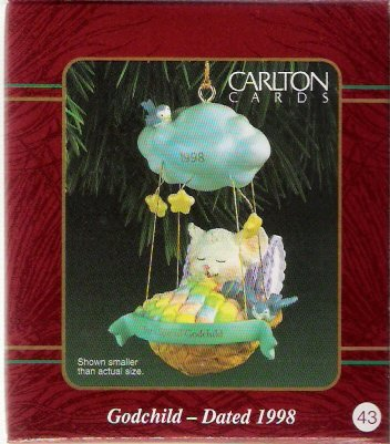 Carlton Cards Godchild 1998 #43 Ornament