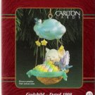 Carlton Cards Godchild 1998 #43 Christmas Ornament Mouse in Nutshell Mint in Box