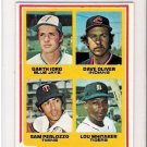 1978 Topps Lou Whitaker Rookie Baseball Card Near Mint