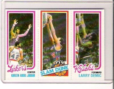 1980-81 Topps Kareem Abdul-Jabbar Basketball Card