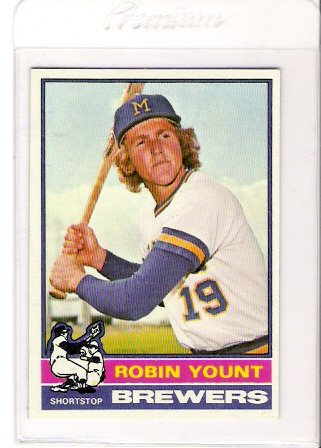 1976 Topps Robin Yount Baseball Card Near Mint