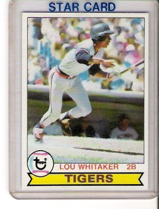 1979 Topps Lou Whitaker Baseball Card