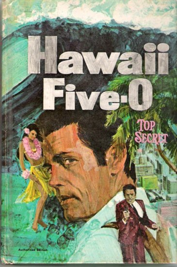 1969 Hawaii Five-O: Top Secret Whitman TV Book