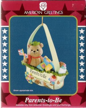 Parents-To-Be 2004 American Greetings Christmas Ornament
