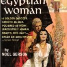 1962 Collectible Vintage Paperback That Egyptian Woman Noel Gerson Dell F181
