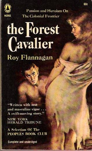 The Forest Cavalier by Roy Flannagan Popular Library M2062 Vintage Paperback