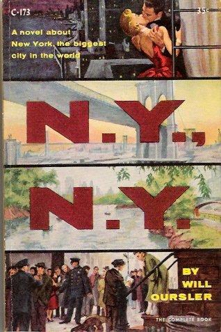 N.Y., N.Y. by Will Oursler Cardinal C-173 1955 Vintage Paperback