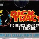 Dick Tracy 1990 Topps Collectors Edition Movie Trading Card Set Mint in Box