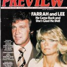 Farrah Fawcett & Lee Majors Cover December 1977 Preview Magazine