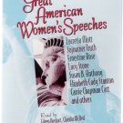 Great American Women's Speeches Audio Cassette Brand New