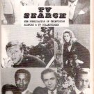 TV Search Magazine 1982 Edition Pre-National TV Guides Article