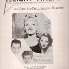 Gertrude Lawrence The Light Ahead 1944 Sheet Music