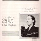 We Shall Meet Again Amanda Snow WLS Radio Sheet Music