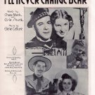 I&#39;ll Never Change Dear Stoney & Wilma Lee Cooper Country/Western Sheet Music