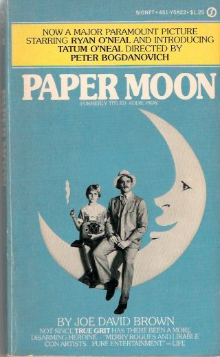 Paper Moon Movie Tie-In Paperback First Edition