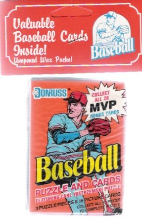 Donruss Unopened Baseball Card Wax Packs Still Sealed in Bag