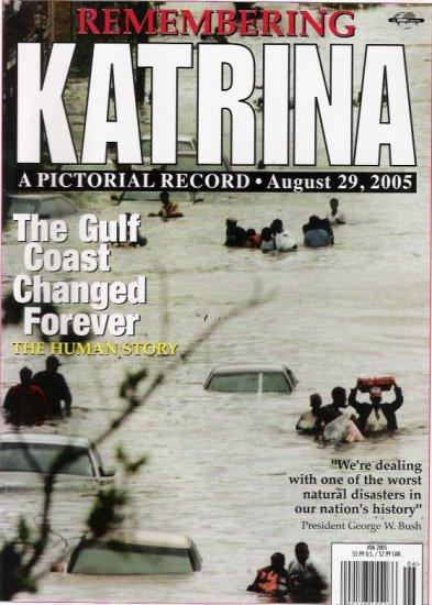 Hurricane Katrinia 2005 Color Magazine Special
