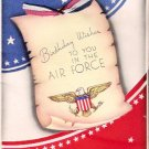 World War II Army Air Force Keep 'Em Flying Birthday Greeting Card