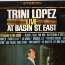 Trini Lopez  Live At Basin St. East LP Album