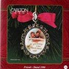Carlton Cards Victorian Brooch Friend 1998 #15 Ornament