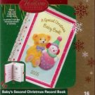 Carlton Cards Baby's Second Christmas Record Book 2006 #16 Ornament