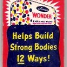 Wonder Bread 1954 Ladies' Hosiery Mending Kit Advertising Premium Unused in Package