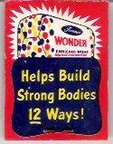 Wonder Bread 1954 Ladies' Hosiery Mending Kit Advertising Premium Unused in Package