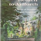 Return to Aylforth  by Anne Elliot 1967 First Edition Hardcover Gothic Romance Suspense Novel