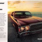 Summer 1972 American Motors Ambassador 12-Page Car Advertising Vintage Automobile Booklet