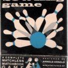 Ed-U-Cards Vintage 1960s Bowling Game