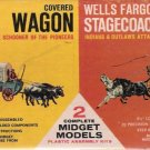 ITC Ideal Toy Midget Models 1962 Covered Wagon/Stagecoach Plastic Kit