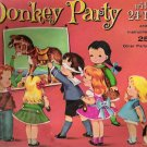 Whitman 1952 Donkey Party Game