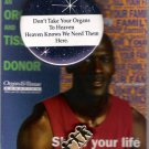 Michael Jordan 1996 Donor Organ and Tissue Missouri/Southern Illinois/Arkansas Basketball Card