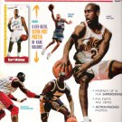 NBA Megastars '98 Magazine Gary Payton, Shaquille O'Neal, Karl Malone Cover