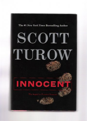 Scott Turow Innocent Signed & Inscribed 2010 First Edition Hardcover Crime Novel Book