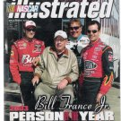 NASCAR Illustrated Dec. 2003 Bill France Jr. & Jeff Gordon Cover Still Sealed in Bag