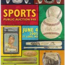 Regency Superior June 4, 2005 Sports Memorabilia Mickey Mantle Babe Ruth Auction Catalog