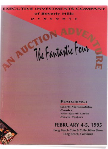 Executive Investments Sports Memorabilia Comics Movie Posters 1995 Auction Catalog