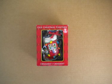American Greetings Our Christmas Together 2005 Mice in Stocking Mint in Box